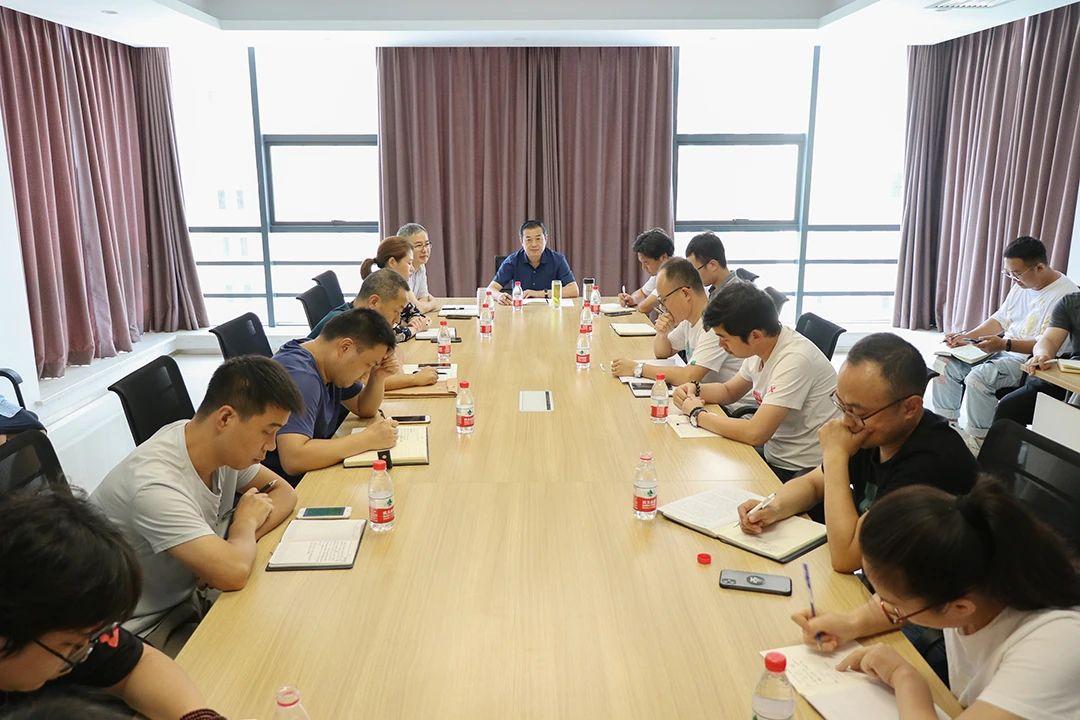 李永和在建筑设计一院调研:做优传统业务 做强新业务 做好创新生态